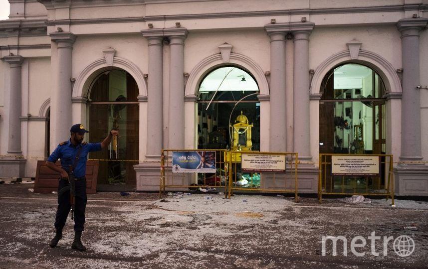 Последствия терактов на Шри-Ланке. Фото AFP
