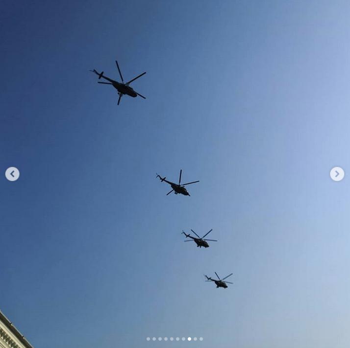 В Петербурге прошла репетиция парада Победы: Яркие фото. Фото Скриншот Instagram: @alexandra_izu