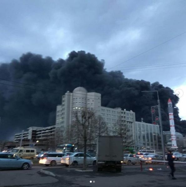 Фото с места событий. Фото скриншот https://www.instagram.com/zobninrome/