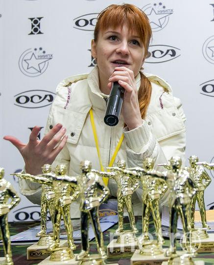 Россиянка Мария Бутина. Фото AFP