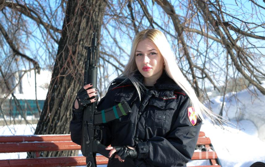 Анна Храмцова. Фото предоставлено пресс-службой Росгвардии.