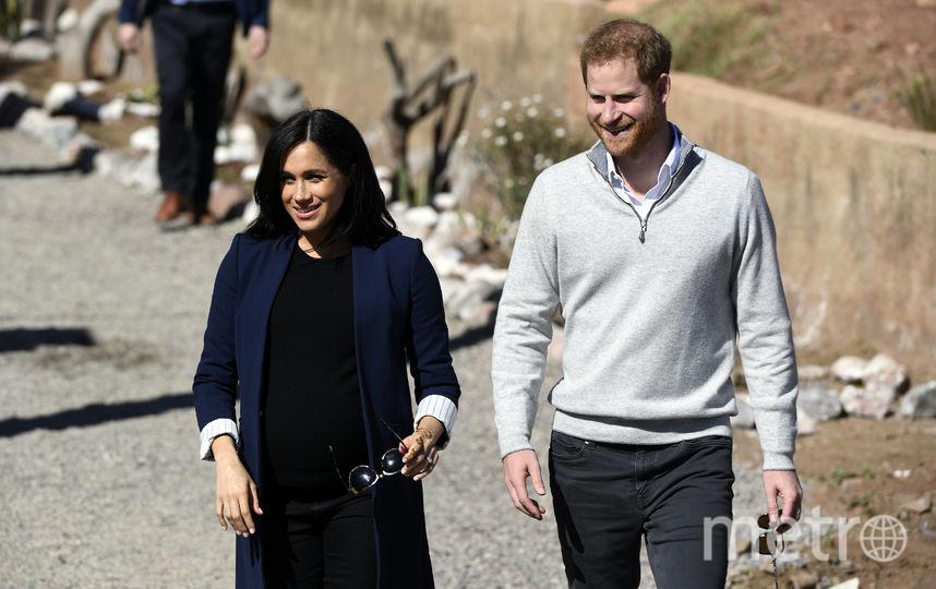 Принц Гарри и Меган Маркл. Фото AFP