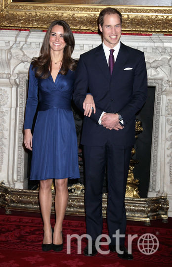 Кейт Миддлтон и принц Уильям. 2010 год. Фото Getty