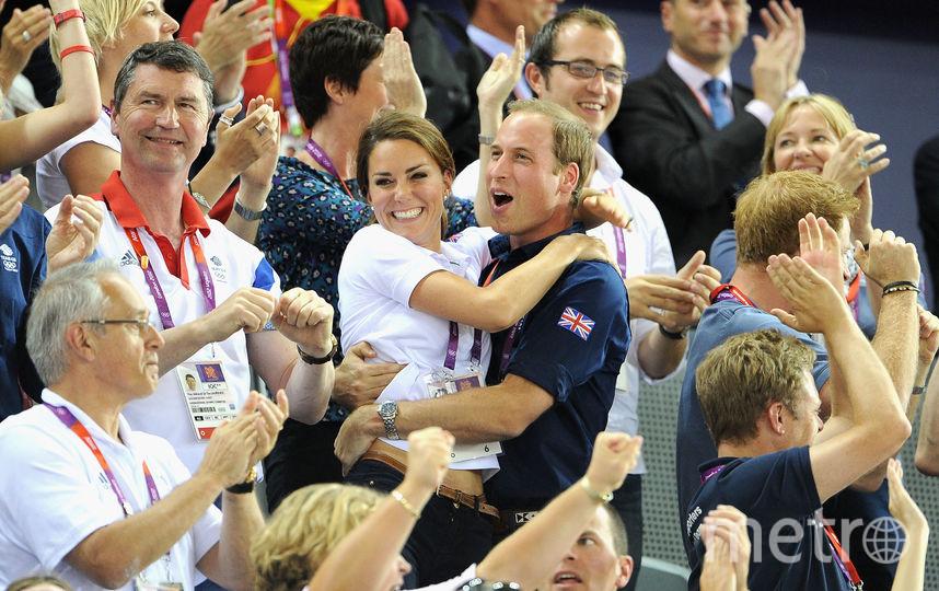 Кейт Миддлтон и принц Уильям. 2012 год. Фото Getty