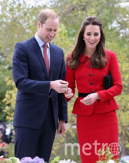 Кейт Миддлтон и принц Уильям. 2014 год.