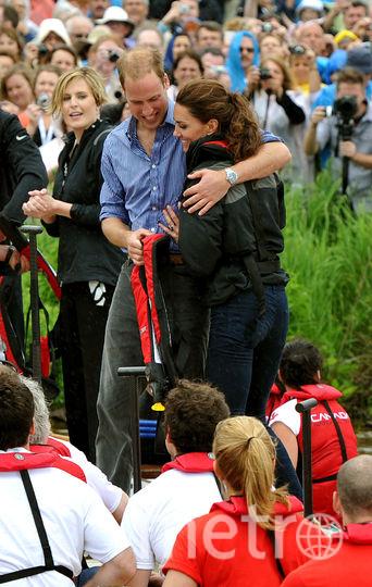 Кейт Миддлтон и принц Уильям. 2011 год. Фото Getty