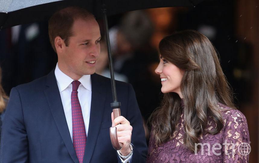 Кейт Миддлтон и принц Уильям. 2015 год. Фото Getty