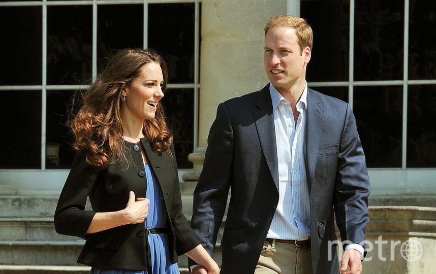 Кейт Миддлтон и принц Уильям. Архивное фото. Фото Getty
