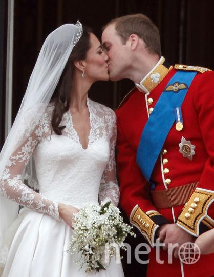 Свадьба Кейт Миддлтон и принца Уильяма. Архивное фото. Фото Getty