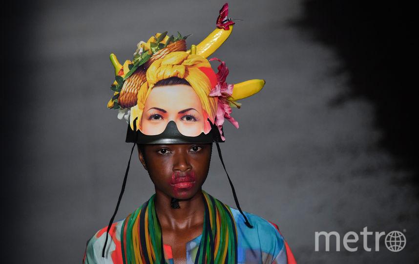 Показ на Неделе моды в Сан-Паулу. Фото AFP