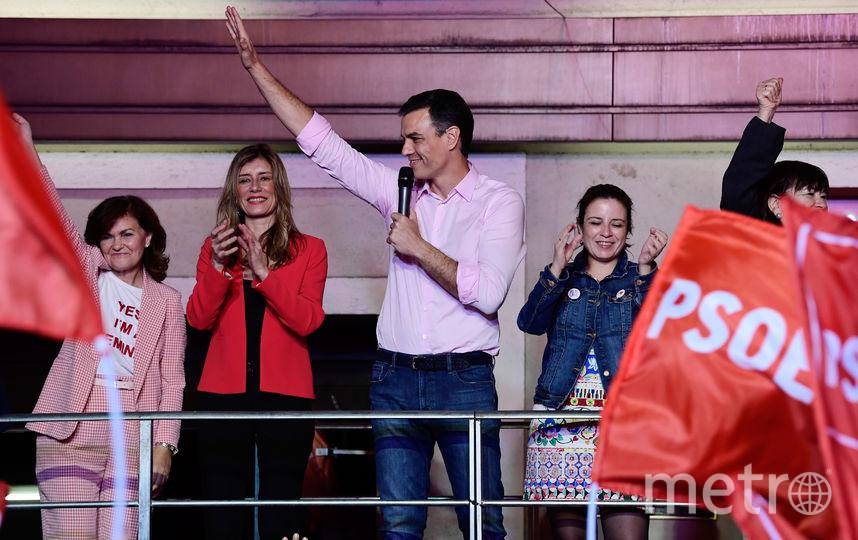 Педро Санчес. Фото AFP