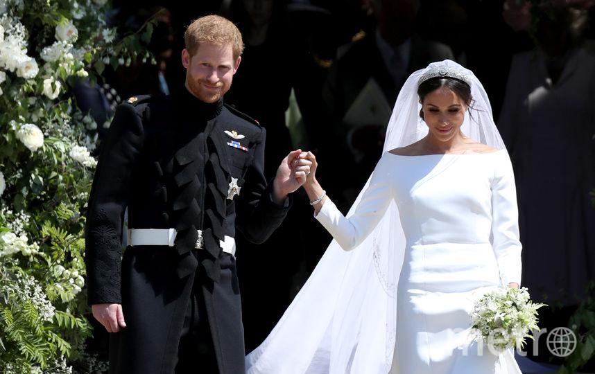 Свадьба Меган Маркл и принца Гарри прошла в мае 2018 года, она получилась очень трогательной. Фото Getty