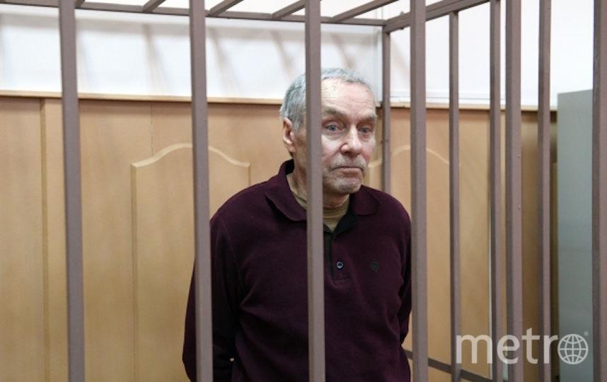 Виктор Захарченко в суде. Фото РИА Новости