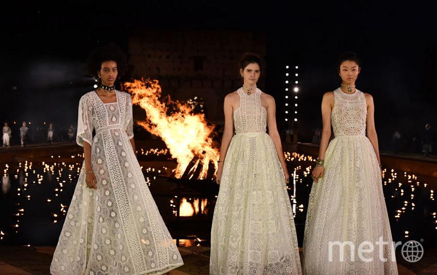 Показ Dior в Марракеше. Фото Getty