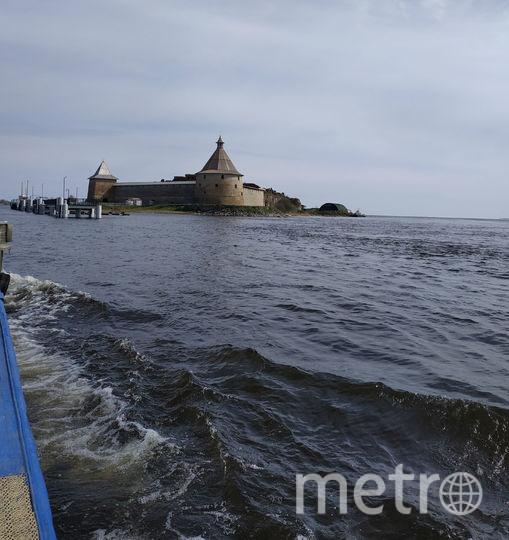 """К крепости Орешек в этом году смогут подходить как маленькие лодки, так и крупные судна. Фото Наталья Сидоровская, """"Metro"""""""