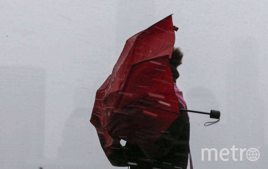 Дождь и ветер обрушатся на Петербург. Фото Getty