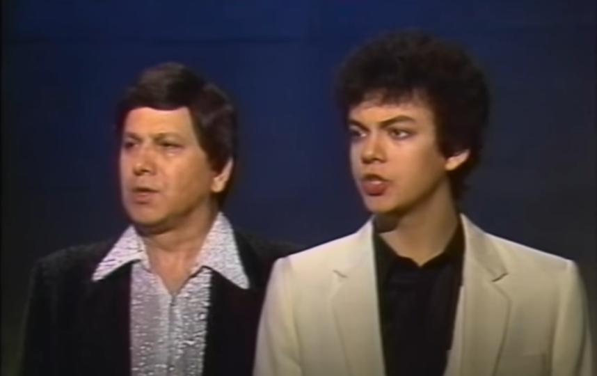 Бедрос и Филипп Киркоровы. Фото Скриншот Youtube