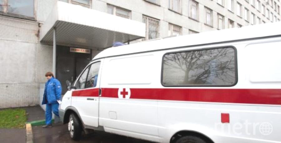 """Раненый госпитализирован. Фото """"Metro"""""""