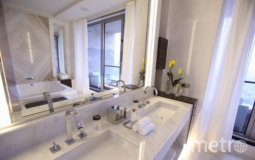 Ванная комната в отеле. Фото Getty
