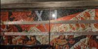 Мозаичное панно с будущей станции