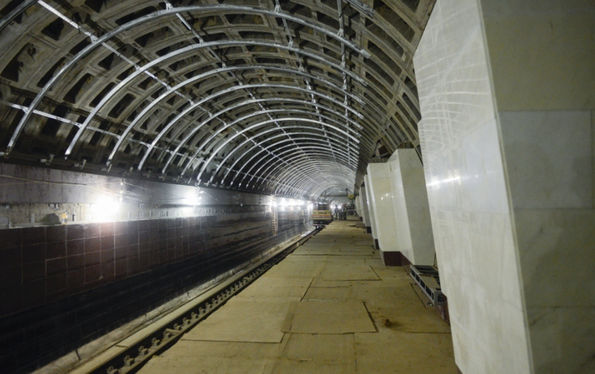 "Фото станции 19 апреля 2019 года. Фото gov.spb.ru, ""Metro"""