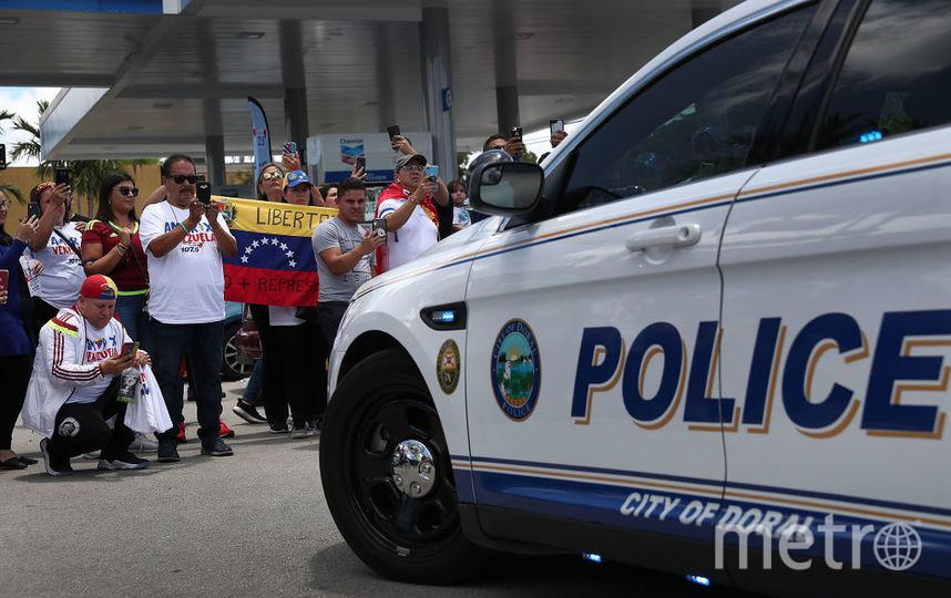 Протесты в Весенуэле 30 апреля. Фото Getty