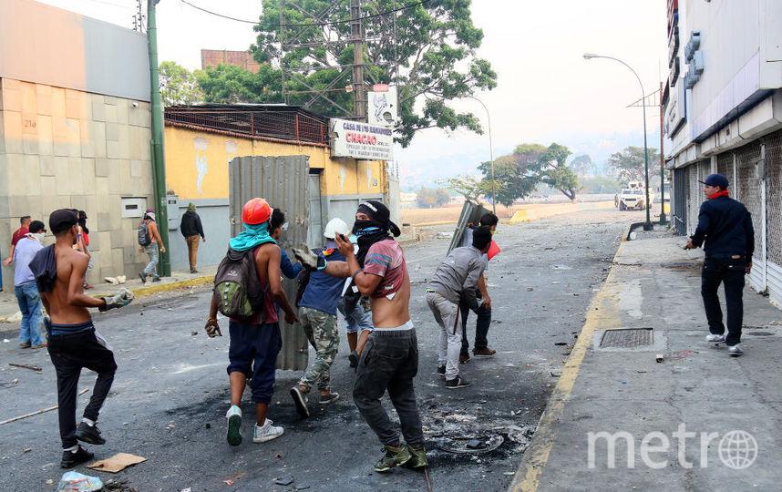 Беспорядки в Каракасе. Фото Getty