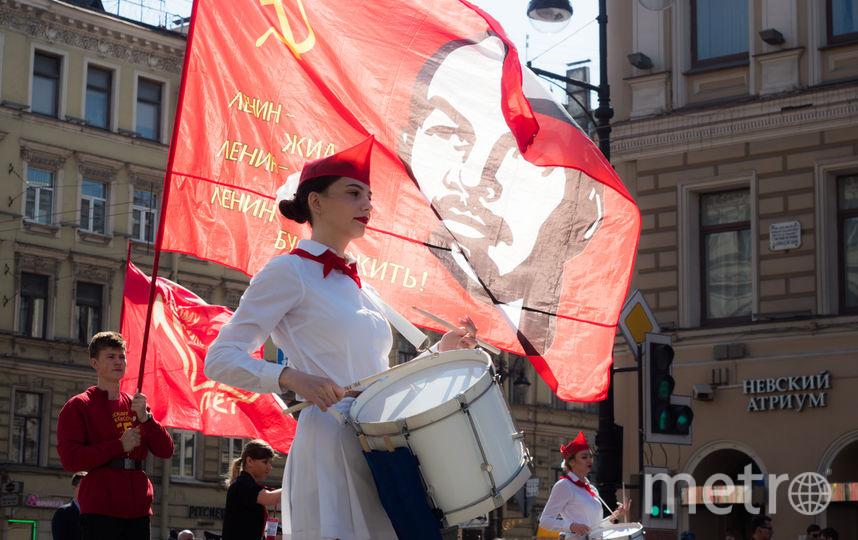"""Первое мая в Петербурге. Фото Святослав Акимов, """"Metro"""""""