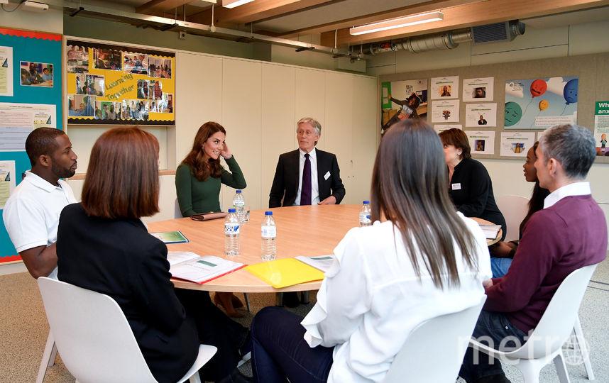 Кейт Миддлтон приняла участие в открытии новой школы. Фото Getty