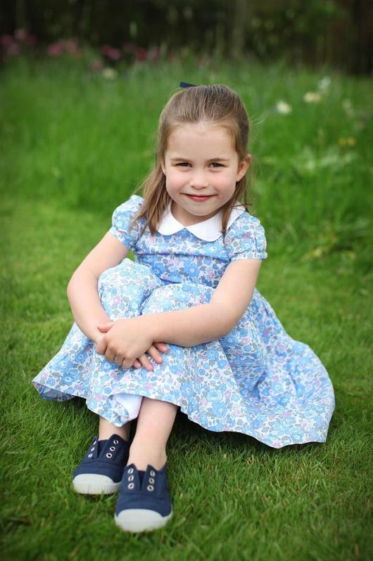 Новые фото принцессы Шарлотты Кембриджской. Фото Скриншот Instagram: @kensingtonroyal