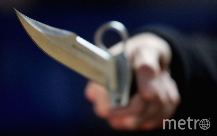 В Петербурге мужчина набросился с ножом на свою жену. Фото Getty