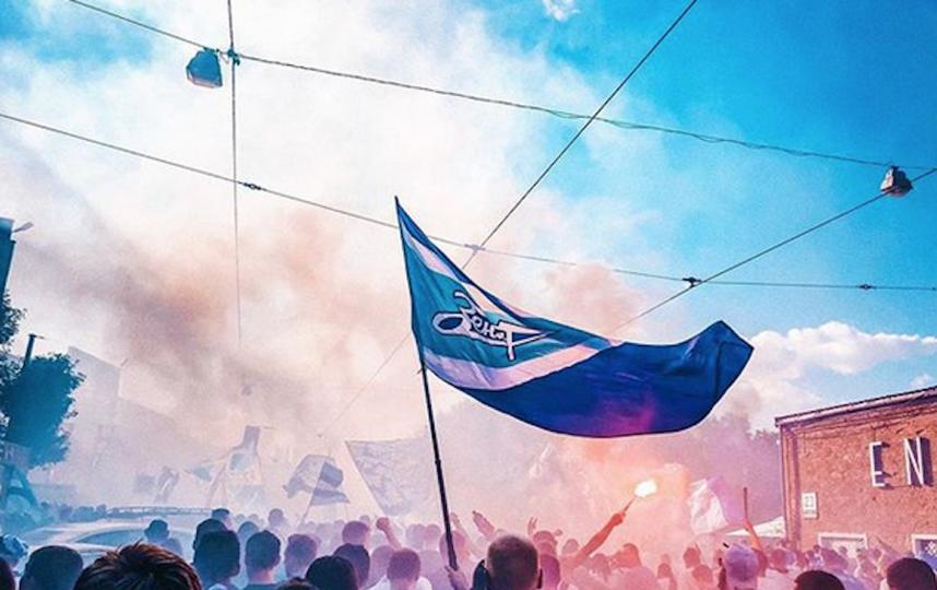 Фанаты сине-бело-голубых отпраздновали победу. Фото Скриншот https://www.instagram.com/nastenkafczp/