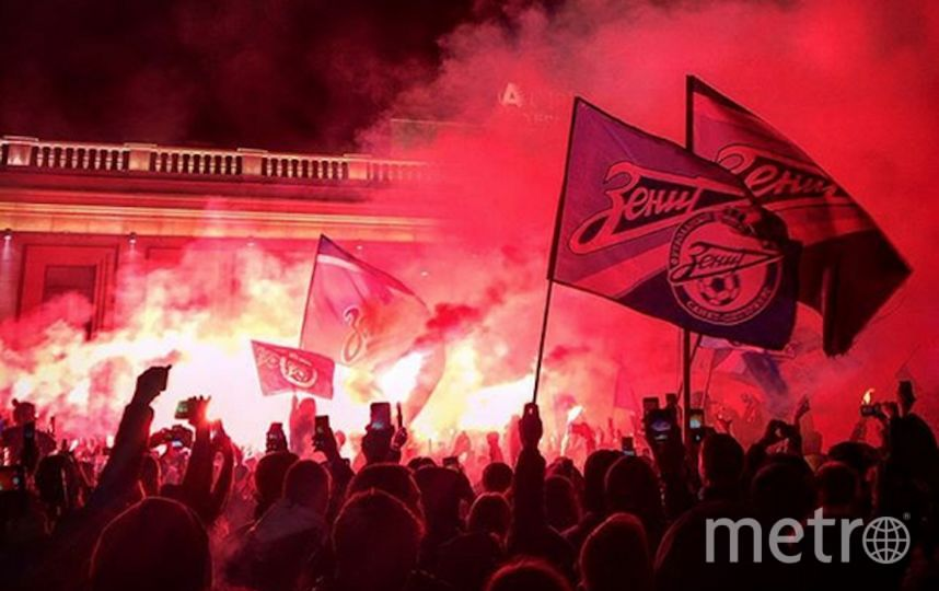 Фанаты сине-бело-голубых отпраздновали победу. Фото Скриншот https://www.instagram.com/sergey083/