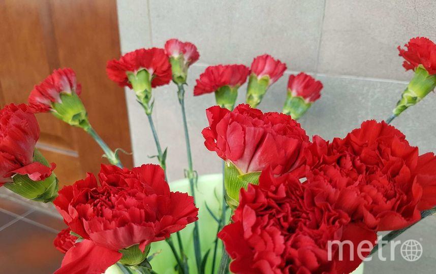 В Москве несут цветы погибшим в авиакатастрофе. Фото Василий Кузьмичёнок
