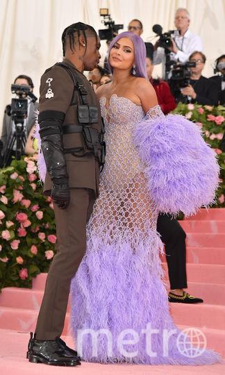 Кайли Дженнер и Трэвис Скотт. Фото AFP