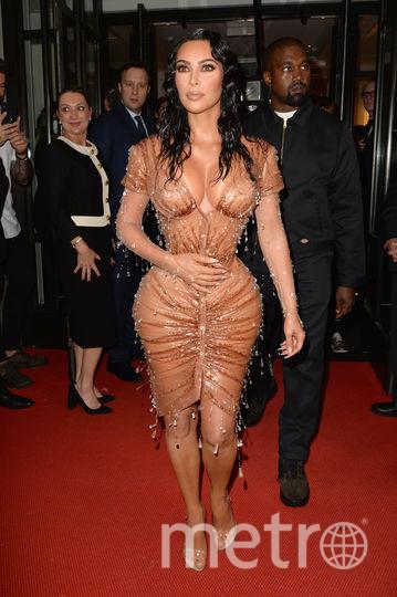 Ким Кардашьян. Фото AFP