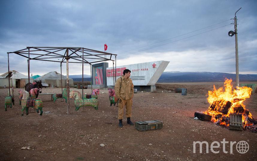 Один из главных героев прощается с войной. Фото WDSSPR