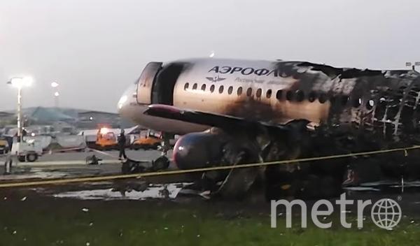 Трагедия в Шереметьево произошла 5 мая. Фото РИА Новости