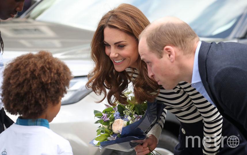 Кейт Миддлтон и принц Уильям на открытии регаты Кубка Короля. Фото Getty
