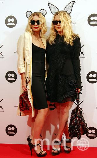 Мэри-Кейт и Эшли Фуллер Олсен в разные годы. Фото Getty