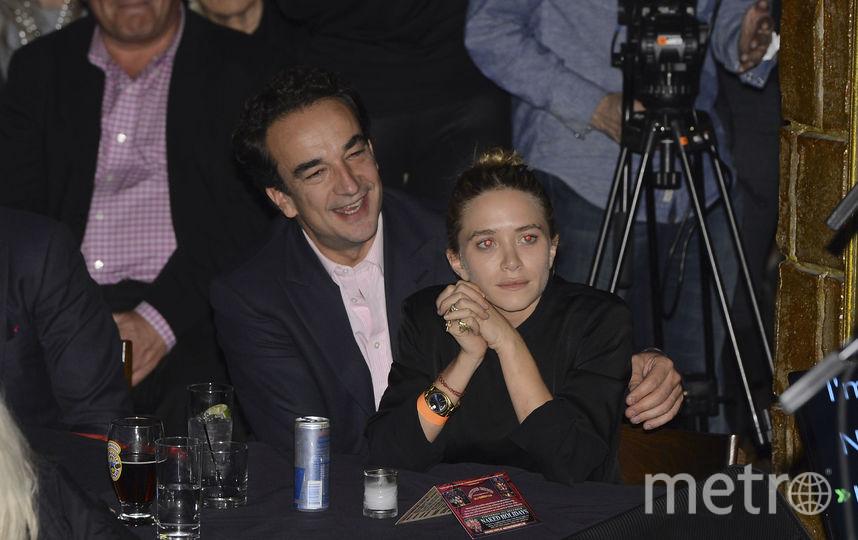 Мэри-Кейт Олсен и Оливье Саркози. Фото Getty