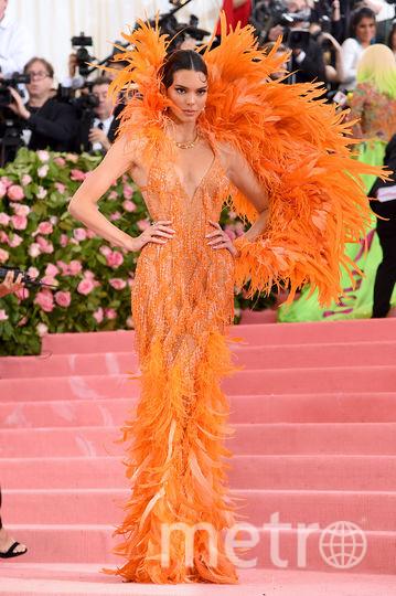 Кендалл Дженнер на ковровой дорожке Met Gala-2019. Фото AFP