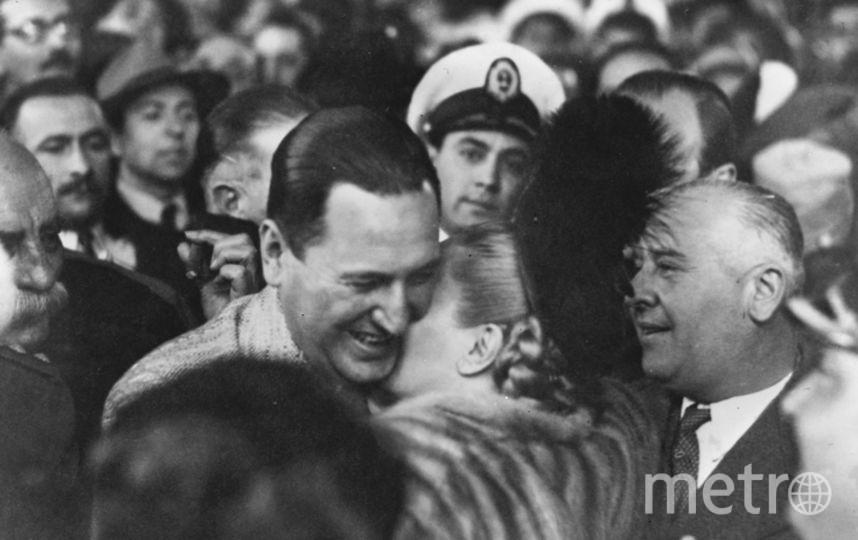 Эвита и Хуан Перон. Фото Getty