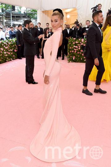 Хейли Болдуин на Met Gala. Фото Getty