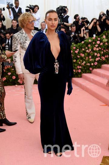 Ирина Шейк на Met Gala. Фото Getty