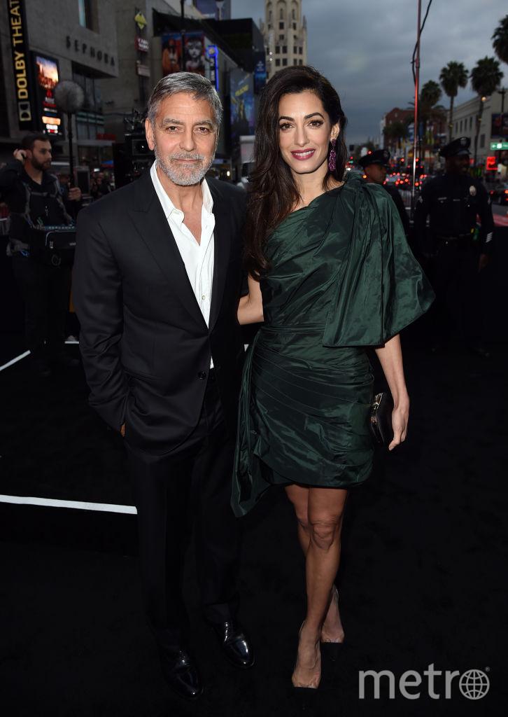 Джордж и Амаль Клуни. Фото Getty