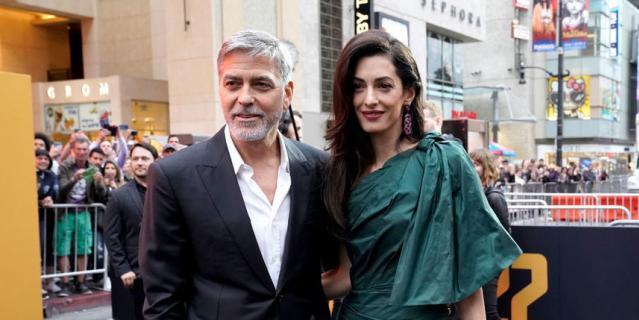 Джордж и Амаль Клуни.