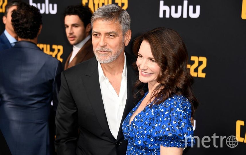 Джордж Клуни и Кристин Дэвис. Фото Getty