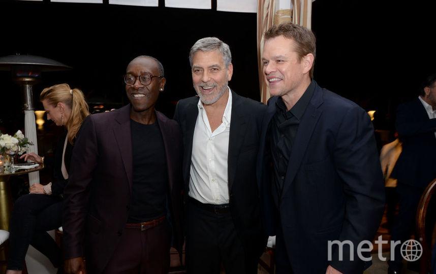 Дон Чидл, Джордж Клуни и Мэтт Деймон. Фото Getty