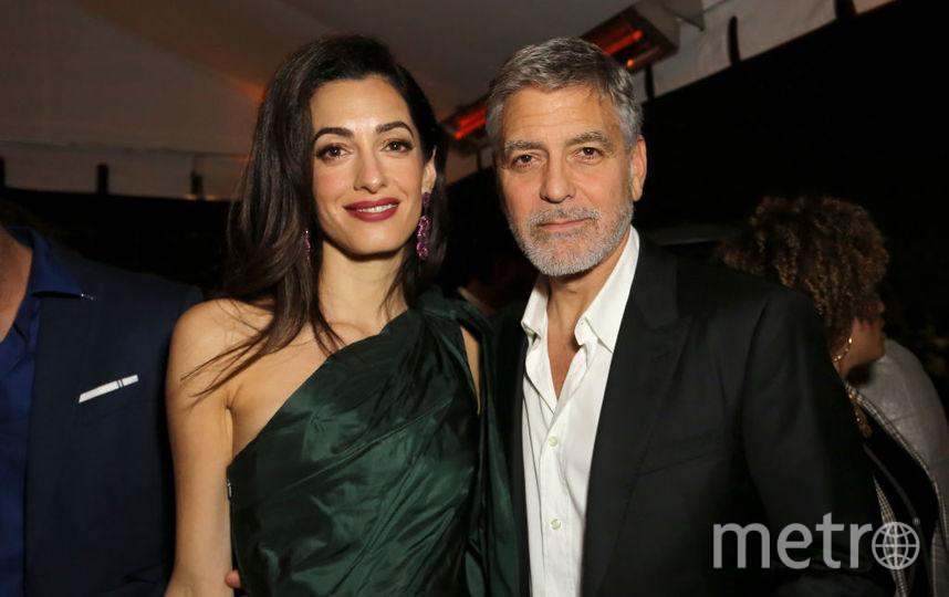 Амаль и Джордж Клуни. Фото Getty